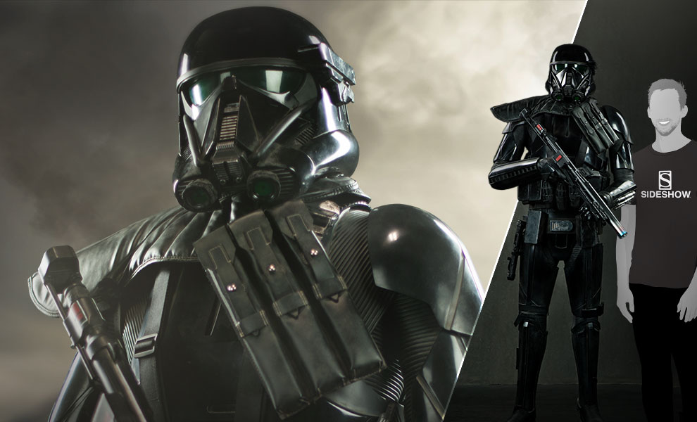 Sideshow Collectibles Rogue One: A Star Wars Story – Life Size Death Trooper Pre-Orders
