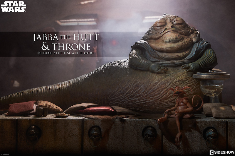 Sideshow Collectibles Star Wars Jabba The Hutt & Throne Deluxe Sixth Scale Figure Pre-Orders