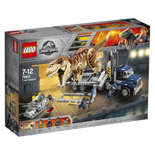 LEGO Jurassic World: Fallen Kingdom & 25th Anniversary Jurassic Park Revealed