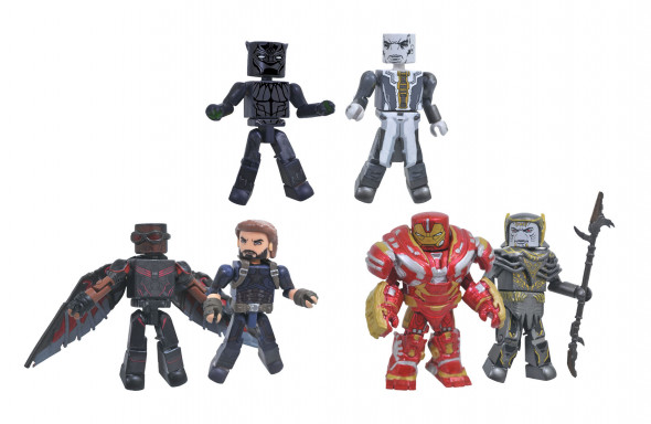 Diamond Select Toys Announces Avengers: Infinity War Minimates Series 2