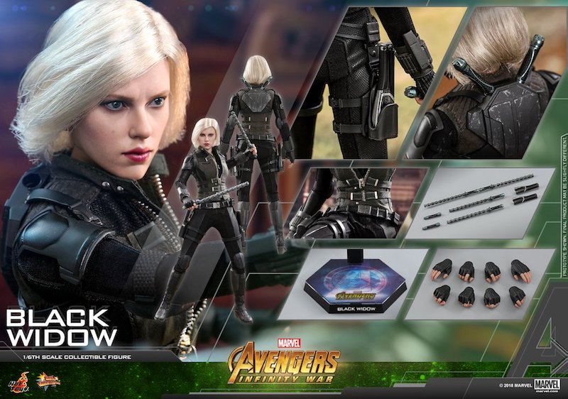 Hot Toys Avengers: Infinity War – Black Widow Sixth Scale Figure Pre-Orders