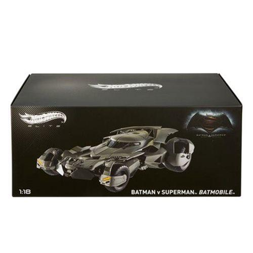 Entertainment Earth Daily Deal – Batman v Superman Batmobile 1:18 Scale Hot Wheels Elite Die-Cast Metal Vehicle