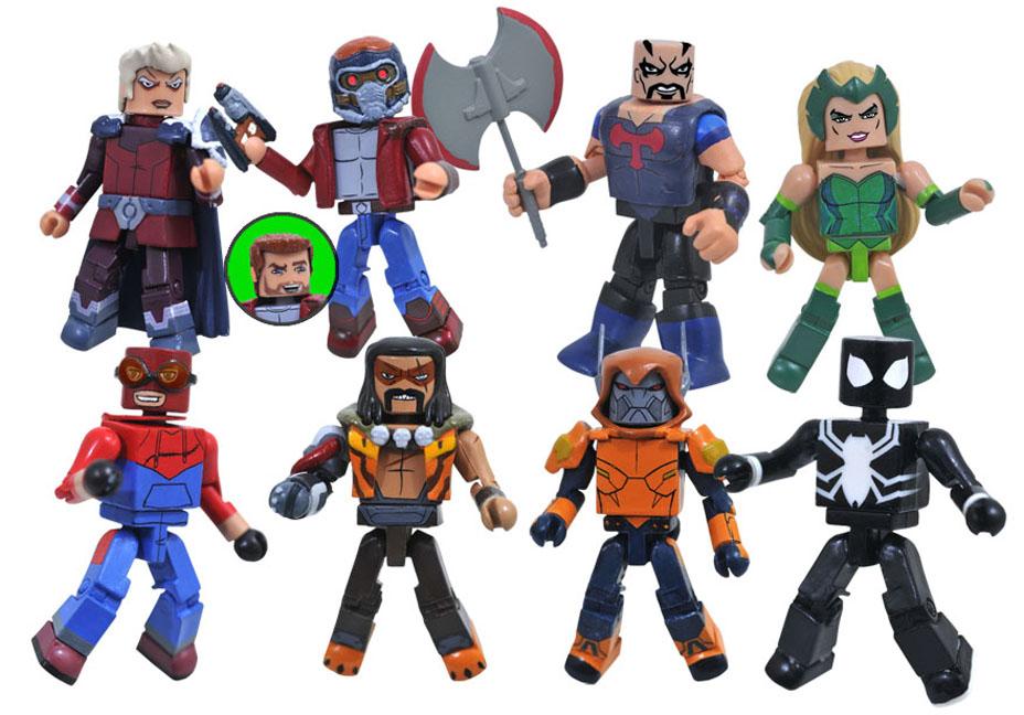 Diamond Select Toys Marvel Animated Minimates Series 9