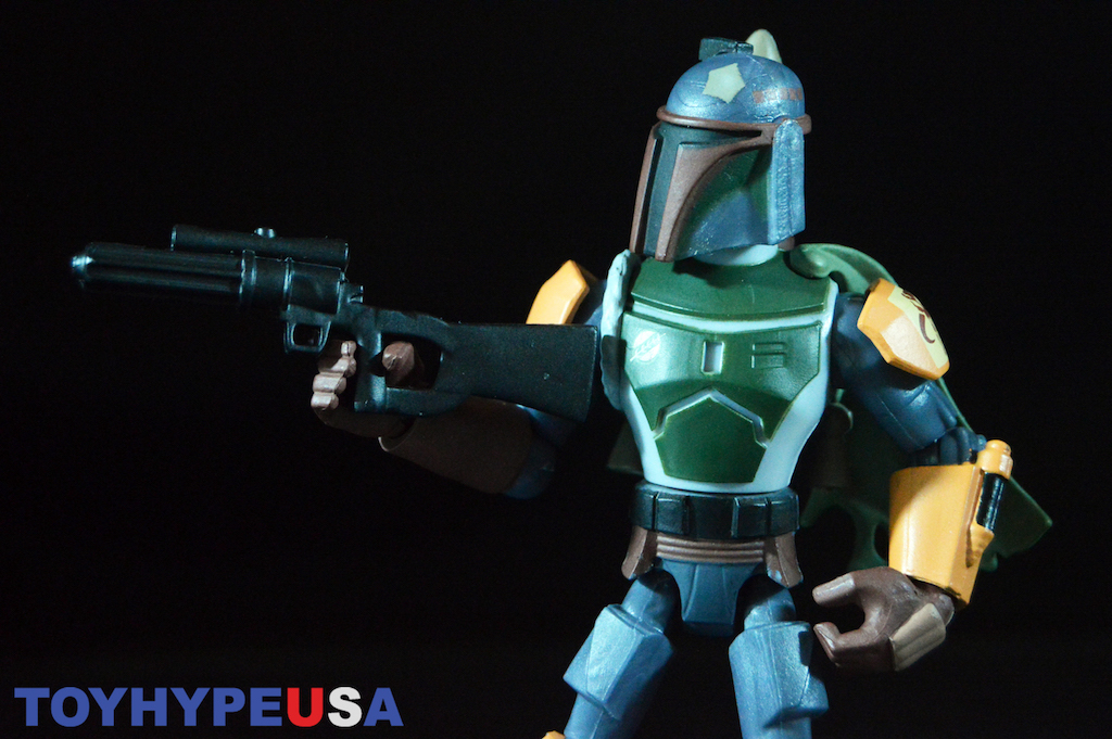 Disney Store Exclusive Star Wars Toy Box Boba Fett Figure Review