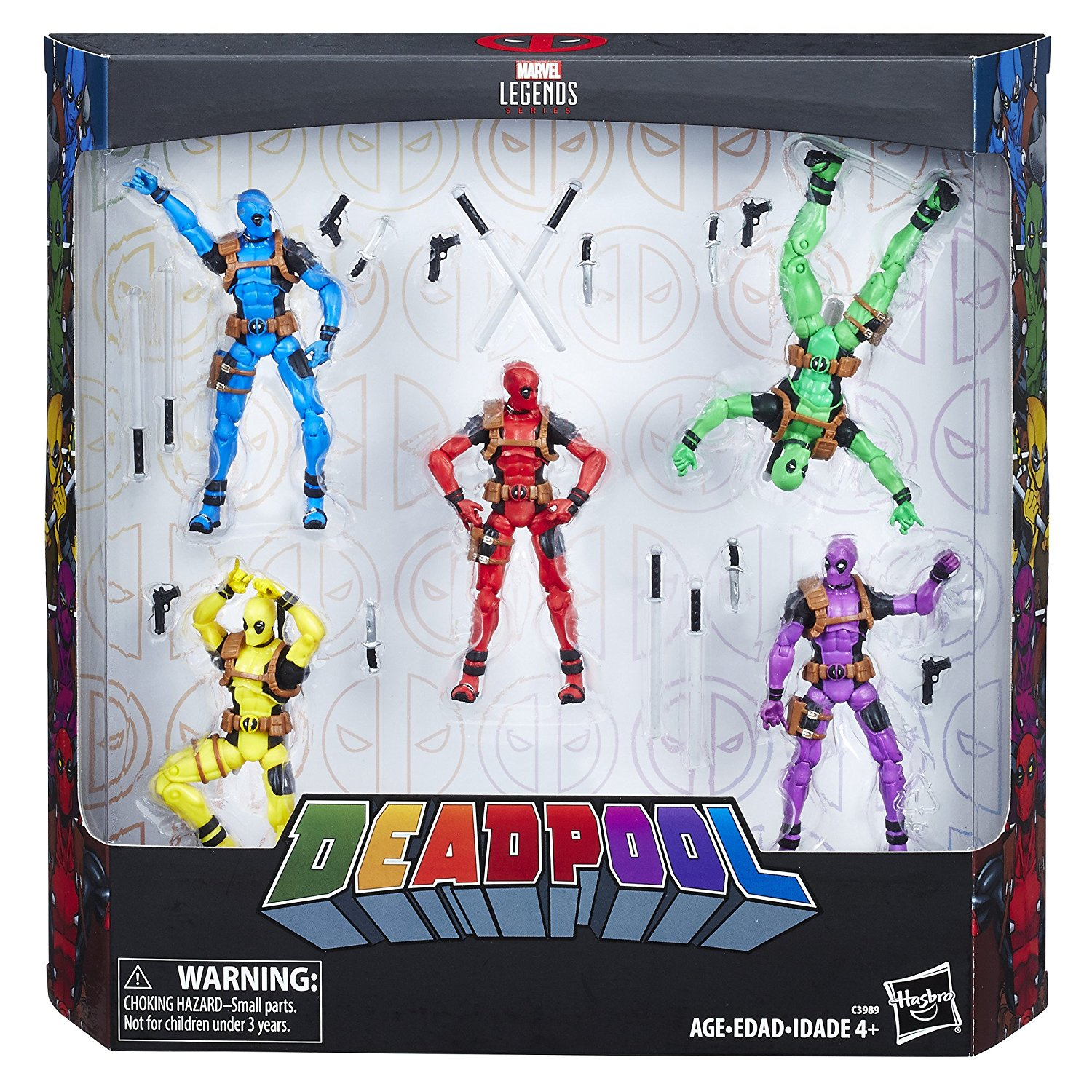 Entertainment Earth Daily Deal – Marvel Legends Deadpool's Rainbow Squad 5-Pack Now 60% Off