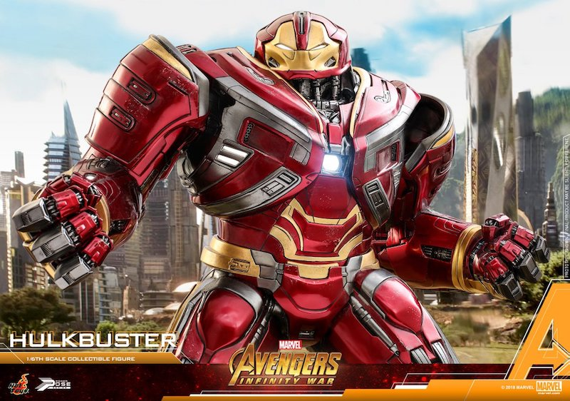 Hot Toys Avengers: Infinity War – Hulkbuster Sixth Scale Power Pose Figure Pre-Orders