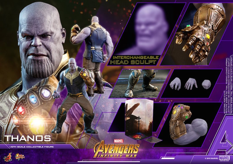 Hot Toys Avengers: Infinity War – Thanos Sixth Scale Figure Pre-Orders