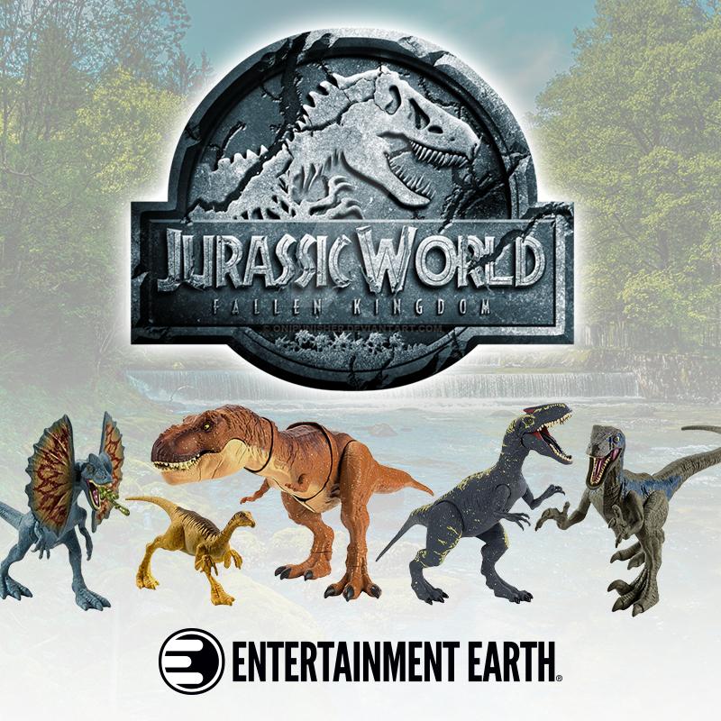 Entertainment Earth – Jurassic World: Fallen Kingdom Toy Pre-Orders