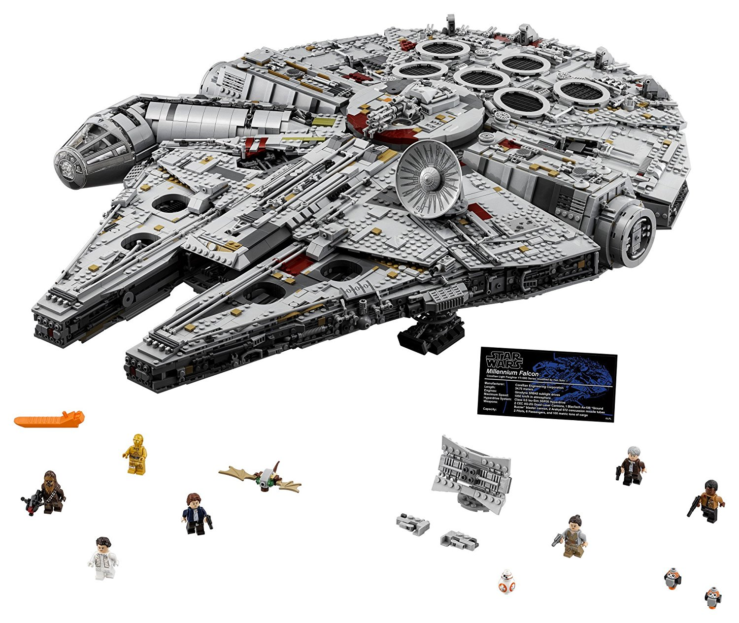LEGO Star Wars 75192 Ultimate Millennium Falcon In-Stock On LEGO Shop For $799.99
