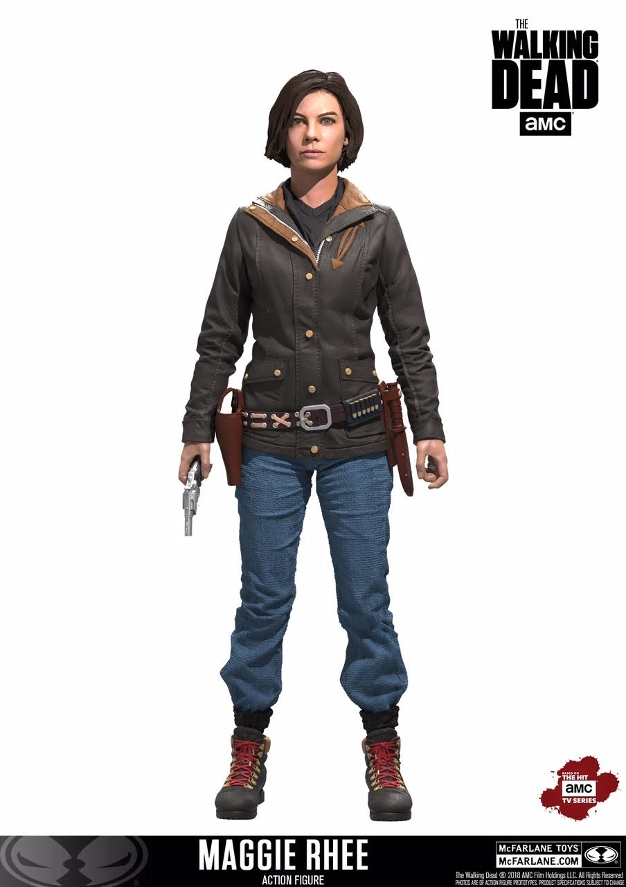 McFarlane Toys The Walking Dead Maggie, Rick & Negan 7″ Figures