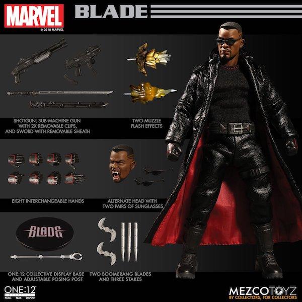 Mezco Toyz One:12 Collective Marvel Comics Blade Figure