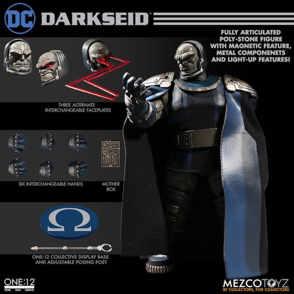 Mezco Toyz One:12 Collective DC Comics Darkseid Figure Now Shipping