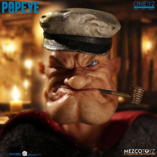Mezco Toyz One:12 Collective Popeye Figure