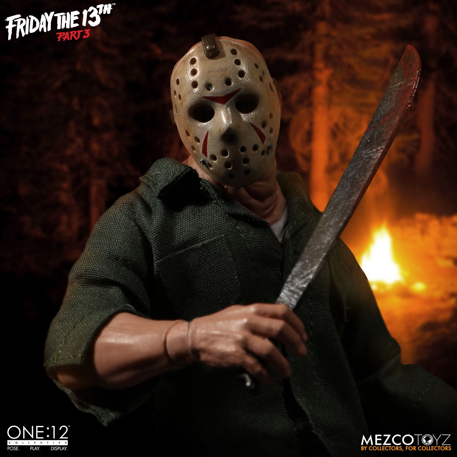 Mezco Toyz One:12 Collective Friday The 13th Part 3 Jason Voorhees Figure