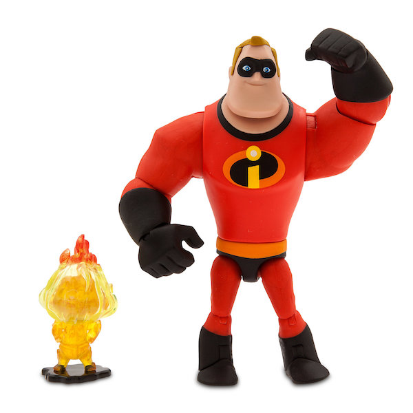 Disney Store Exclusive Pixar Toy Box Incredibles 2 – Mr. Incredible & Mrs. Incredible Figures Available Now