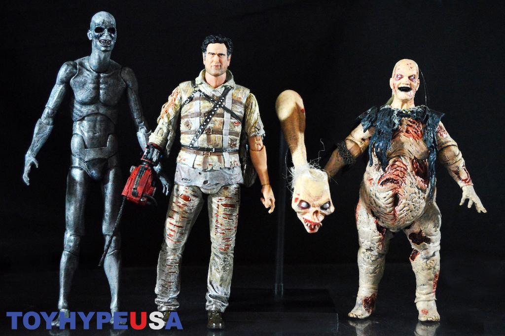 NECA Toys Ash Vs Evil Dead 7″ Series 2 Figures Review