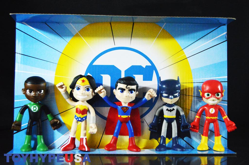 NJ Croce DC Comics Justice League 4″ Action Bendables Figures Review