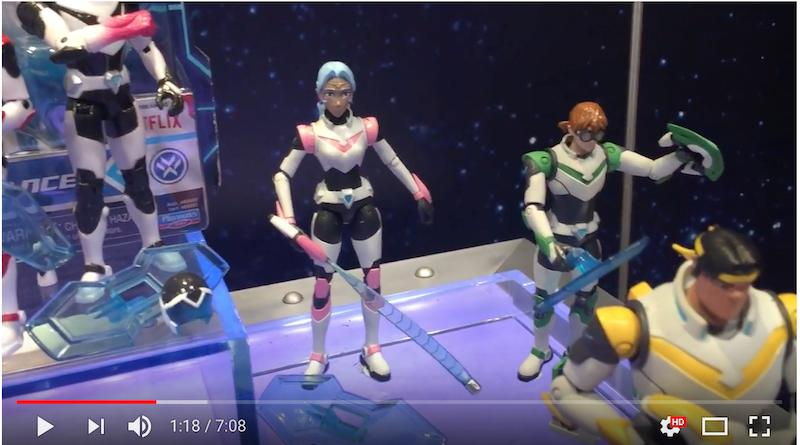 NYTF 2018 – Playmates Toys Voltron Video Walkthrough