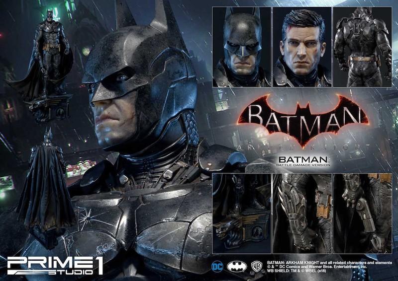 Prime 1 Studio Batman: Arkham Knight – Battle Damage Version Statue Pre-Orders