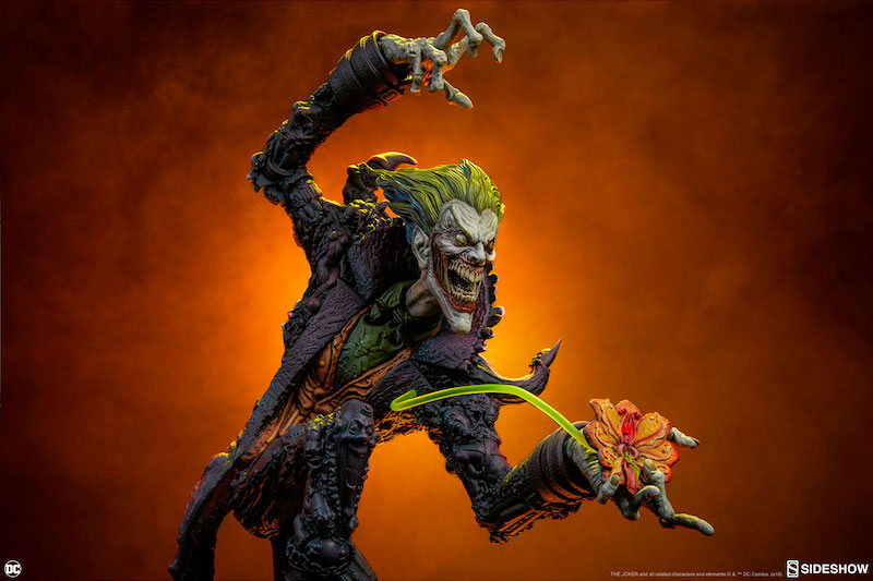 Sideshow Collectibles Gotham City Nightmare Collection – The Joker Statue
