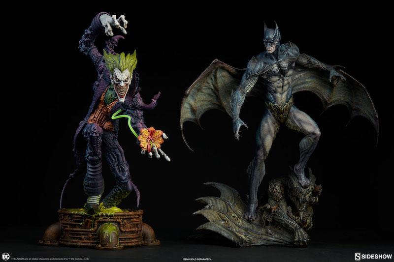 Sideshow Collectibles Gotham City Nightmare Collection – The Joker Statue Pre-Orders