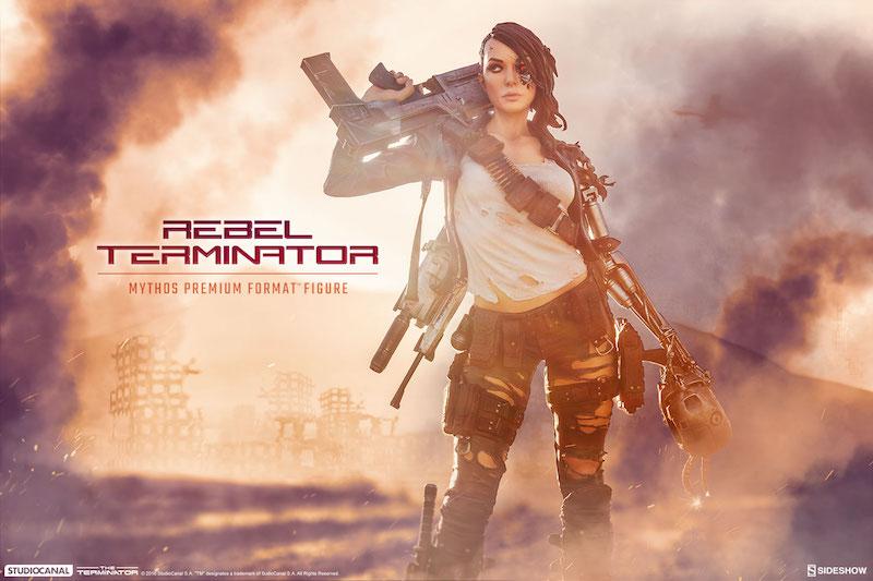 Sideshow Collectibles The Terminator – Rebel Terminator Mythos Premium Format Figure