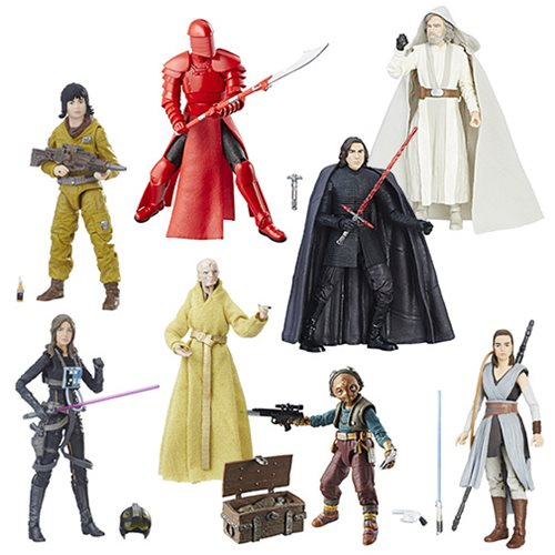 Entertainment Earth – Hasbro Star Wars The Black Series 6″ Figure Assortment Wave 14 Case Now $130