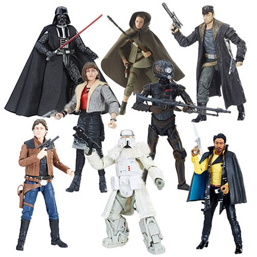 Hasbro Star Wars The Black Series 6″ Wave 17 Case Assortment Now $69.99