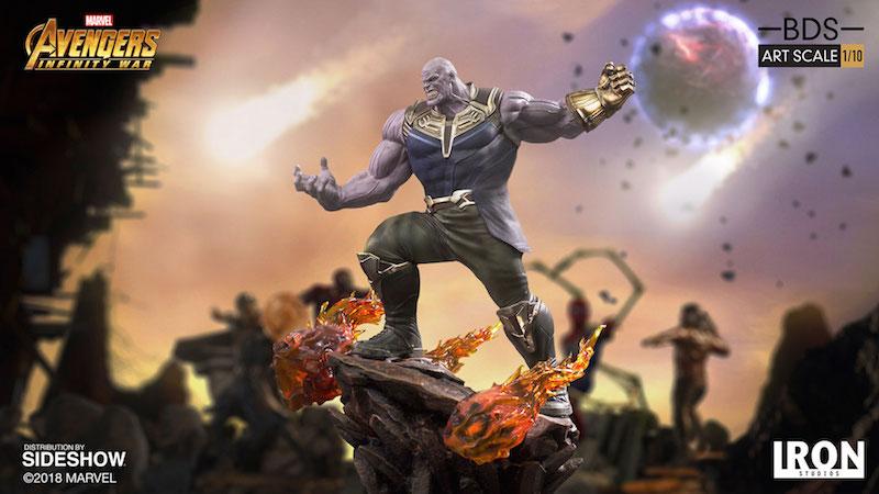 Iron Studios Avengers: Infinity War Thanos Statue Pre-Orders