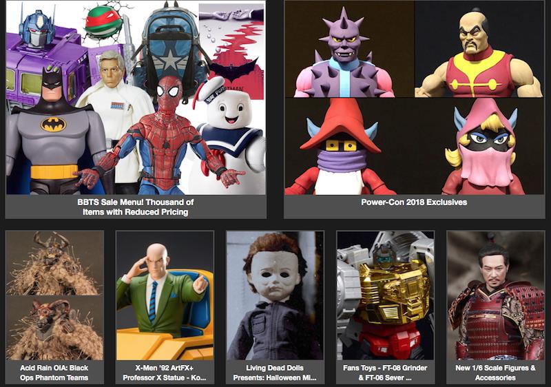 BigBadToyStore – Batman, X-Men, Halloween, Dragon Ball, Star Wars, Transformers, Destiny, Funko & More