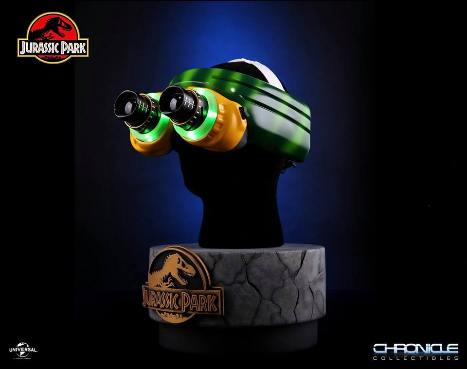 Chronicle Collectibles Jurassic Park Night Vision Goggles 1:1 Scale Prop Replica