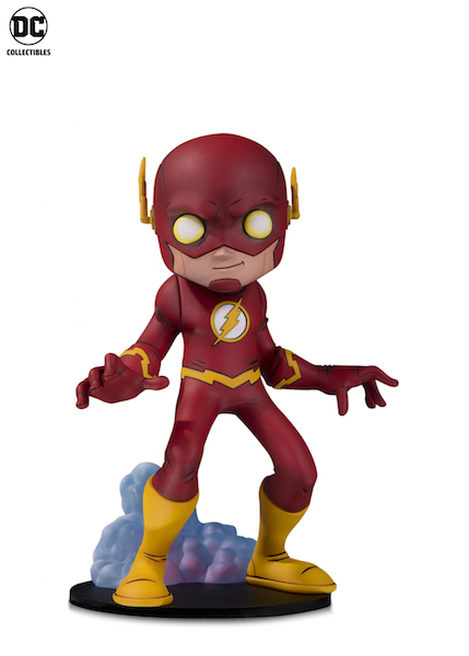 DC Collectibles – DC Designer Vinyl Figures Of Flash, Nightwing & Batgirl Announced