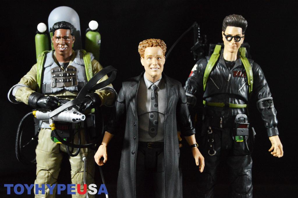 Diamond Select Toys Ghostbusters Select Series 7 – Egon Spengler, Slime Blower Winston & Janosz Poha Figures Review