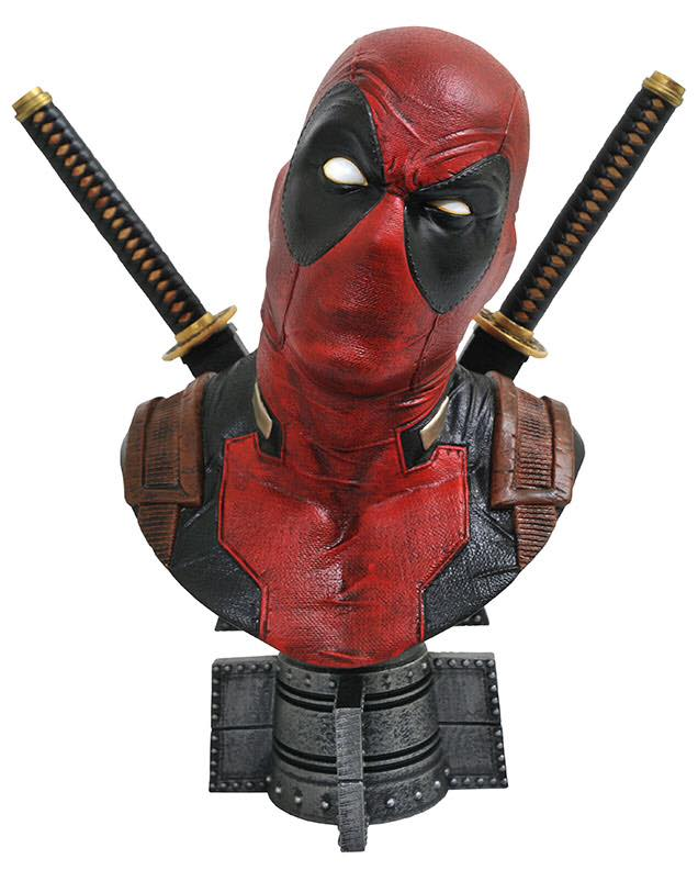 Diamond Select Toys – Deadpool Goes Big In The New Legends In 3D Bust Line