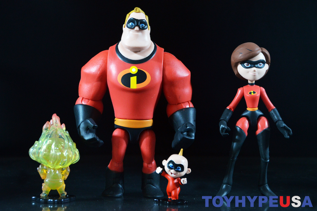 Disney Store Exclusive Pixar Toy Box Incredibles 2 – Mr. Incredible & Mrs. Incredible Figures Review