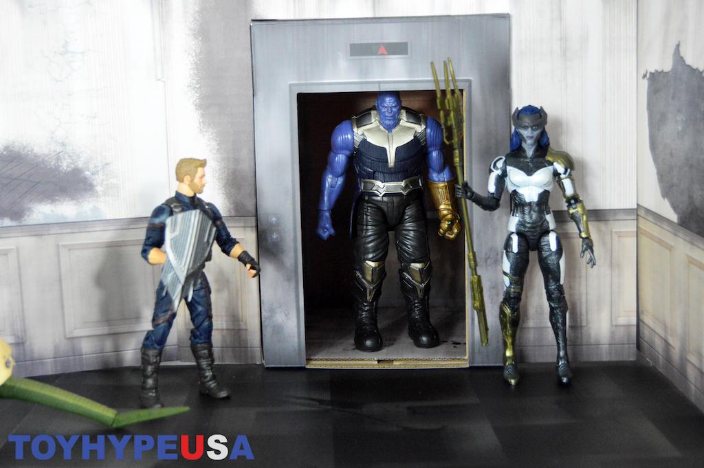 Extreme-Sets Elevator Hallway Pop-Up Diorama Set Review
