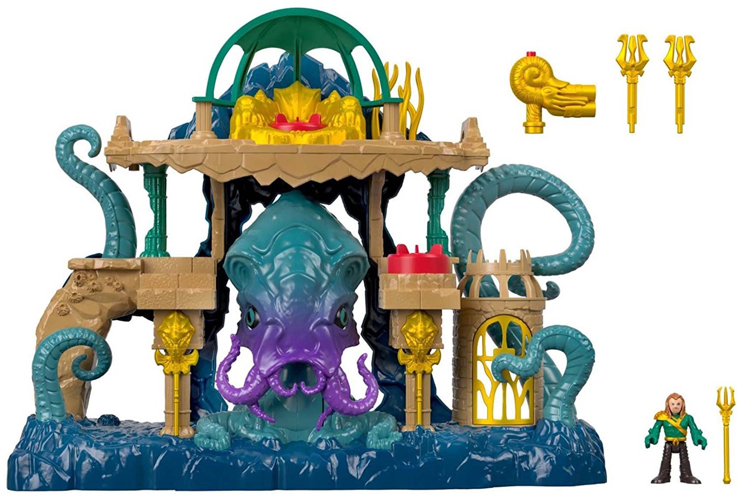 Fisher Price Imaginext DC Super Friends Aquaman Playset In-Stock On Amazon June 11th