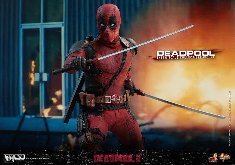 Hot Toys Deadpool 2 – Deadpool Sixth Scale Figure