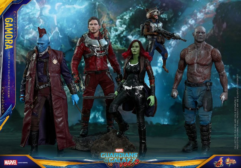 Hot Toys Guardians Of The Galaxy Vol. 2 Gamora Sixth Scale Figure