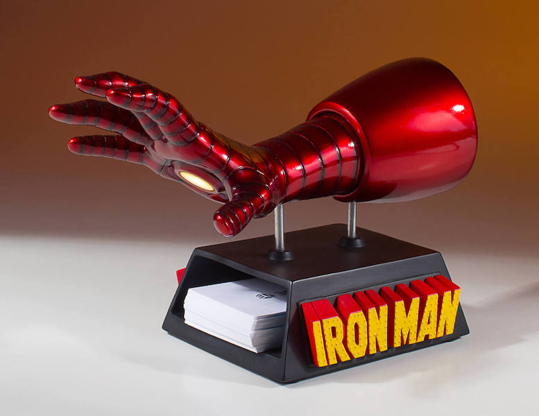 Gentle Giant Ltd. Iron Man Business Card Holder Desk Accessory