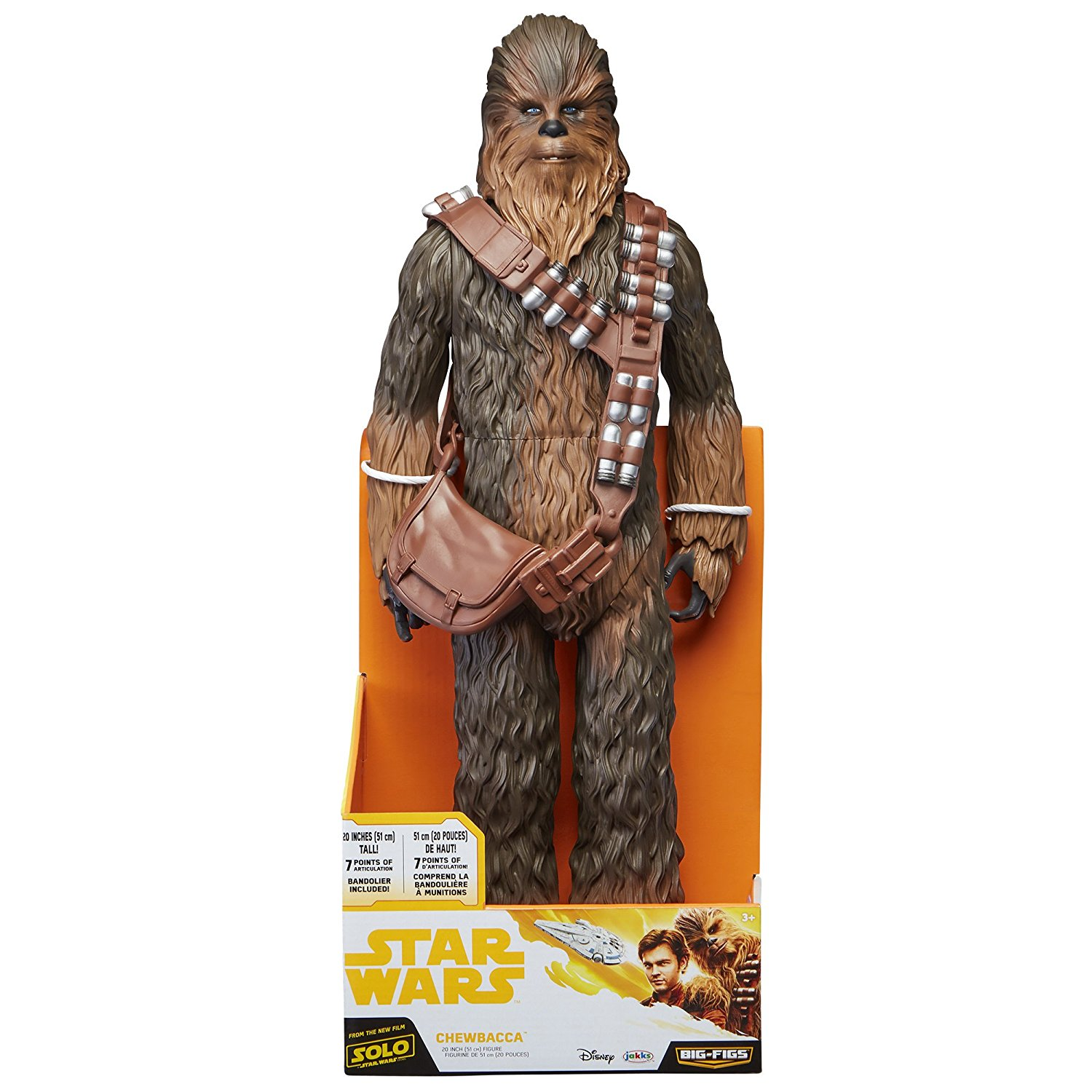 Jakks Pacific – Solo: A Star Wars Story Han Solo, Chewbacca & Mud Trooper Available On Amazon