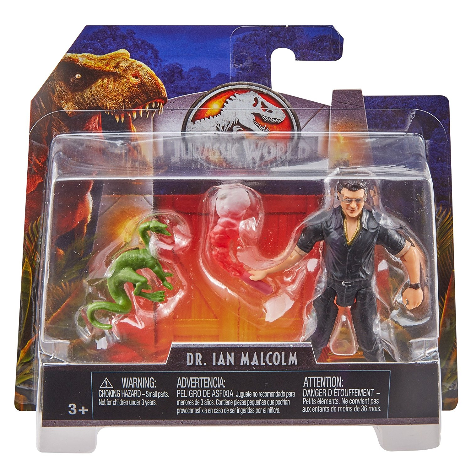 Mattel – New Jurassic World & Jurassic Park Legacy Collection 3.75″ Dr. Ian Malcolm Figures Available Now