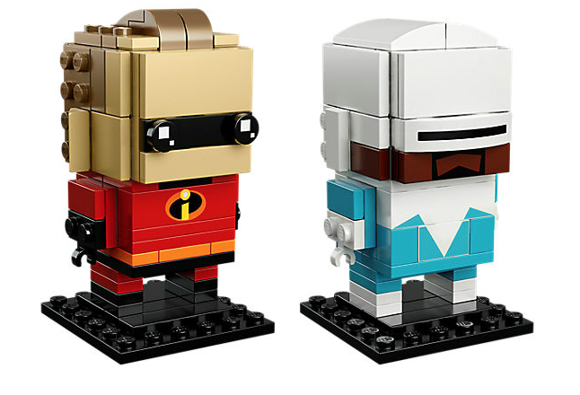 LEGO Incredibles 2 BrickHeadz Mr. Incredibles & Frozone