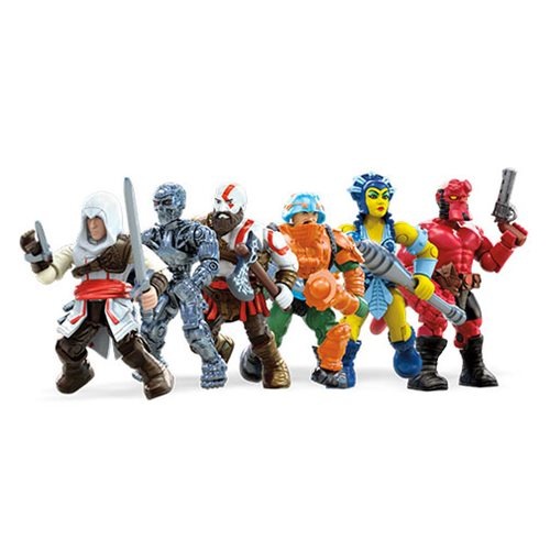 Mega Construx Heroes Mini-Figure Series 3, 4 & 5 Figure Sets