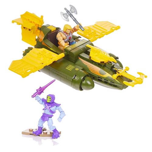 Entertainment Earth – Mega Construx Masters Of The Universe Wind Raider Attack Construction Set In-Stock