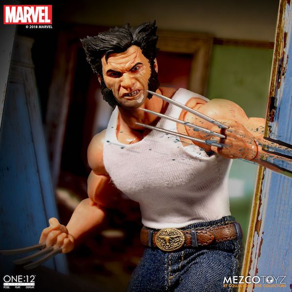 Mezco Toyz One:12 Collective Logan Figure