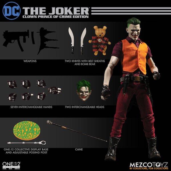 Mezco Toyz One:12 Collective The Joker – Clown Prince Of Crime Edition