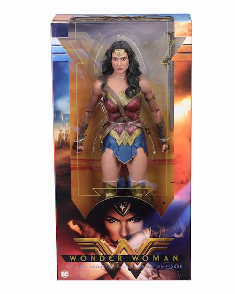 NECA Toys Shipping This Week – 1/4″ Scale Wonder Woman, Half-Life 2, Nightmare On Elm Street & More