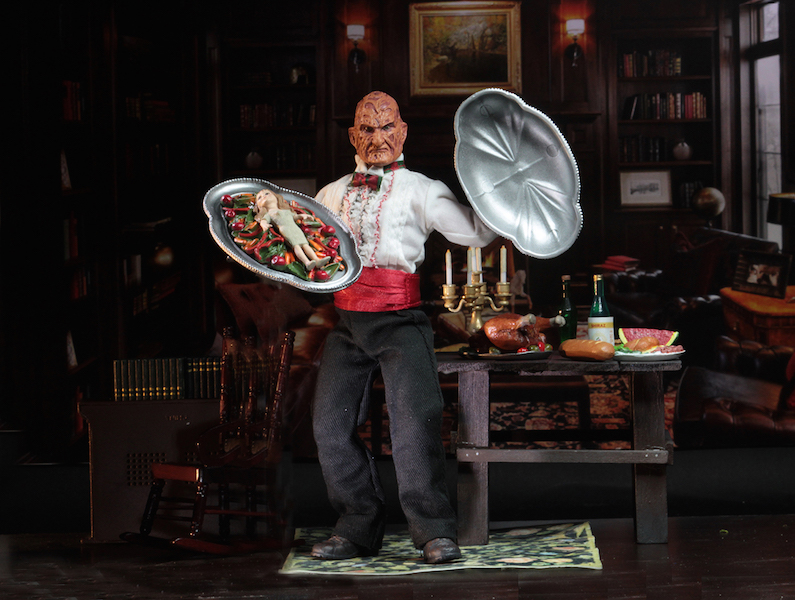 NECA Toys Shipping This Week – Nightmare On Elm Street Part 5 Chef Freddy 8″ Clothed Figure