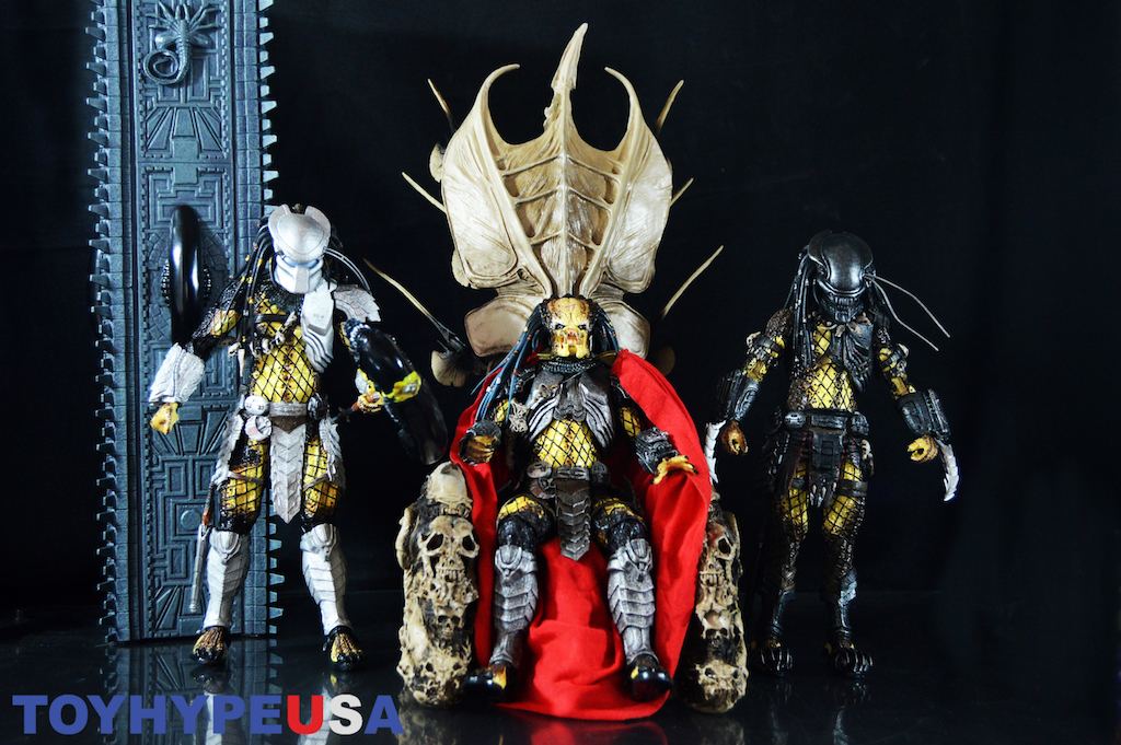 NECA Toys Predator – Bone Throne Diorama Review